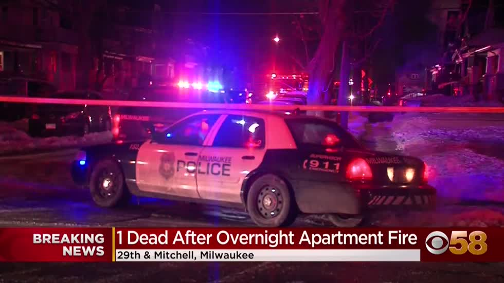 1 dead in apartment complex fire near 29th and Mitchell