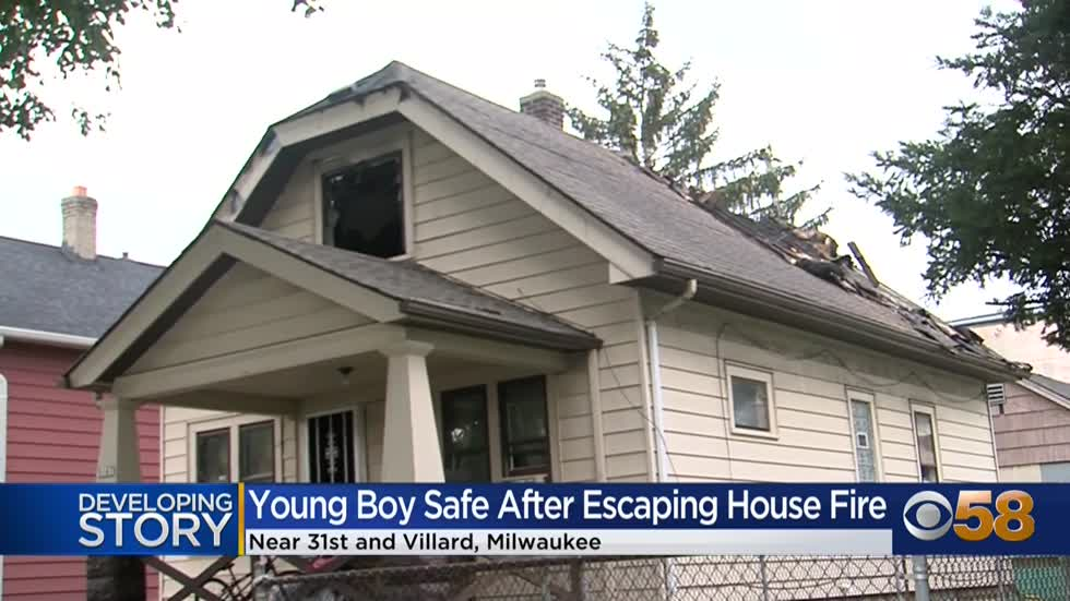 'Went in my bedroom and it was all smoke:' Family escapes house fire near 31st and Villard