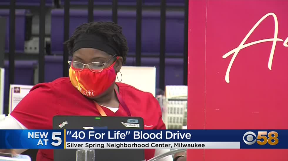 """40 For Life Blood Drive"" hopes to encourage blood donations"