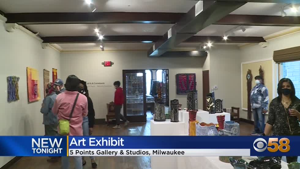 5 Points Gallery & Studios showcases prominent work of artists...