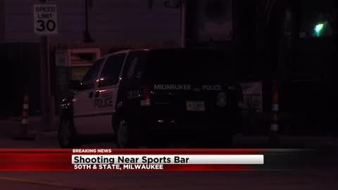 Man shot near 50th and State, police searching for suspects