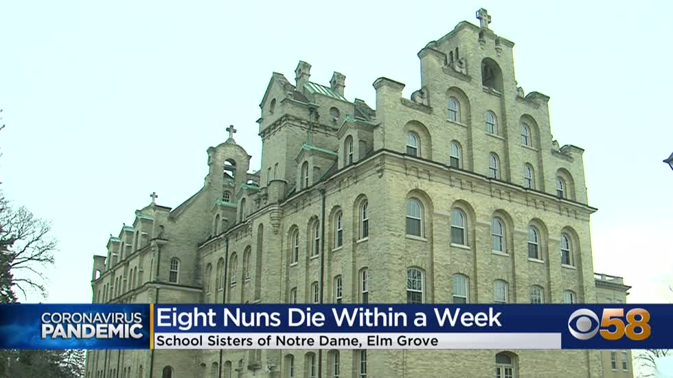 8 nuns die of COVID-19 in last week at Wisconsin convent