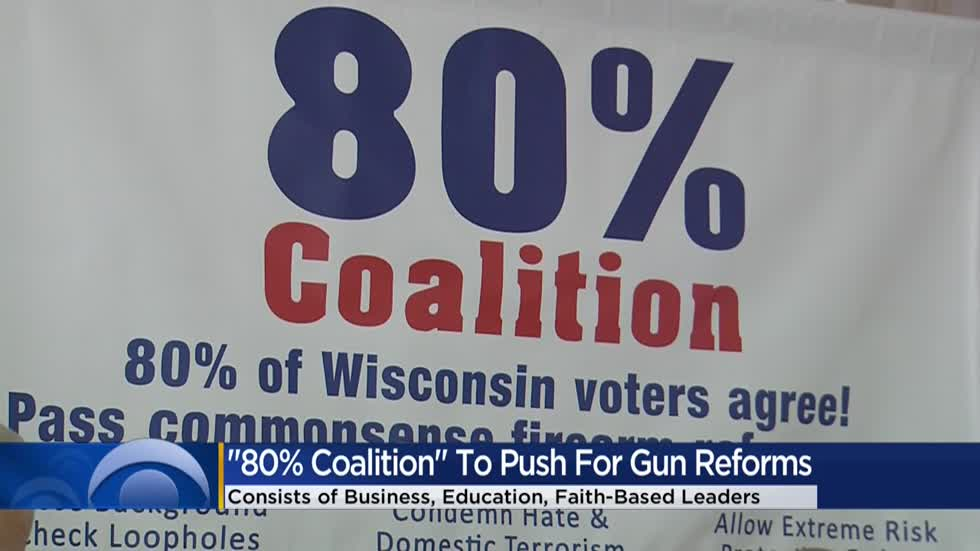 '80% Coalition' pushes for gun reform laws in Wisconsin