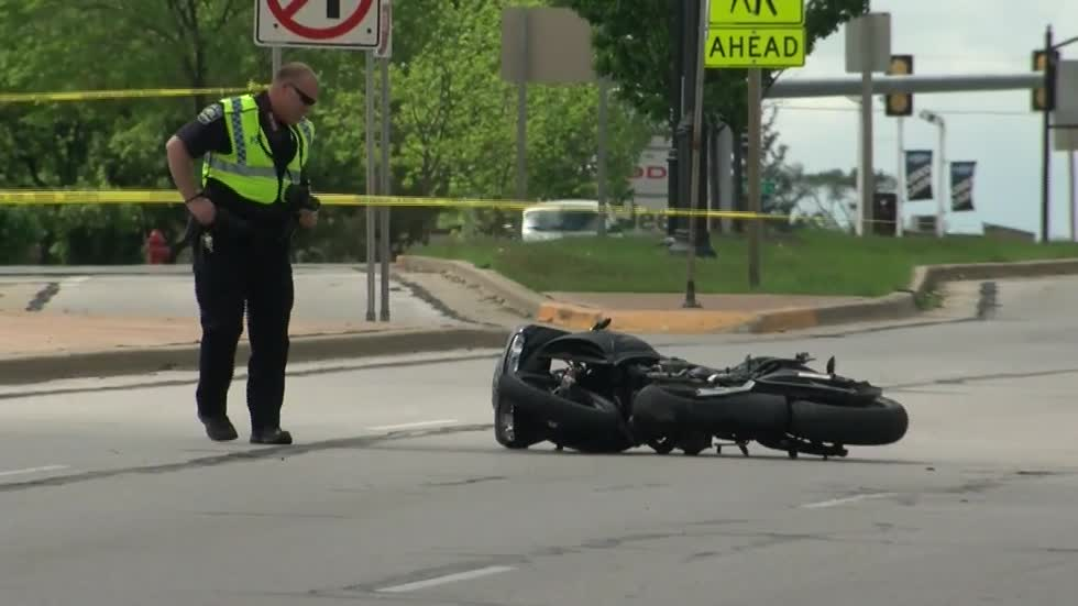 23-year-old Oak Creek man dies in motorcycle crash near 27th and Grange in Greenfield