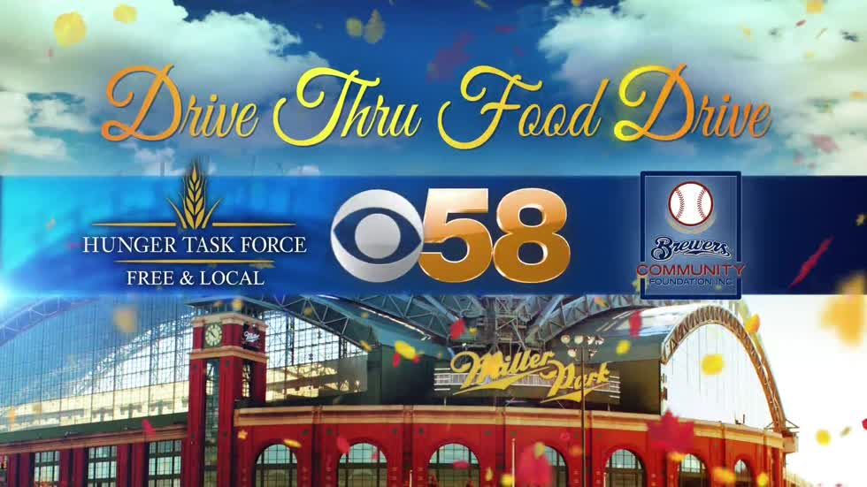 110,000 pounds of food, 620 turkeys donated during CBS 58 Drive Thru Food Drive