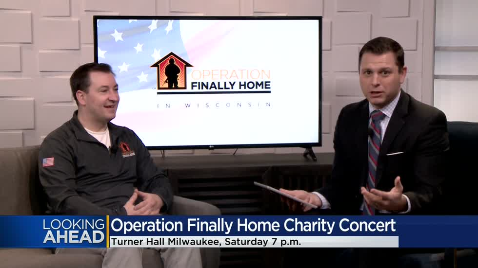 Concert to be held February 29 in Milwaukee to benefit Operation Finally Home