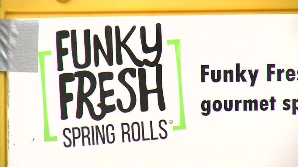 Funky Fresh Spring Rolls serving small business success