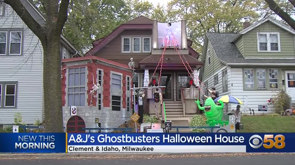 Bay View house goes 'Ghostbusters' for Halloween