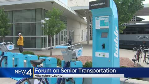 AARP of Wisconsin holds senior transportation forum with MCTS,...