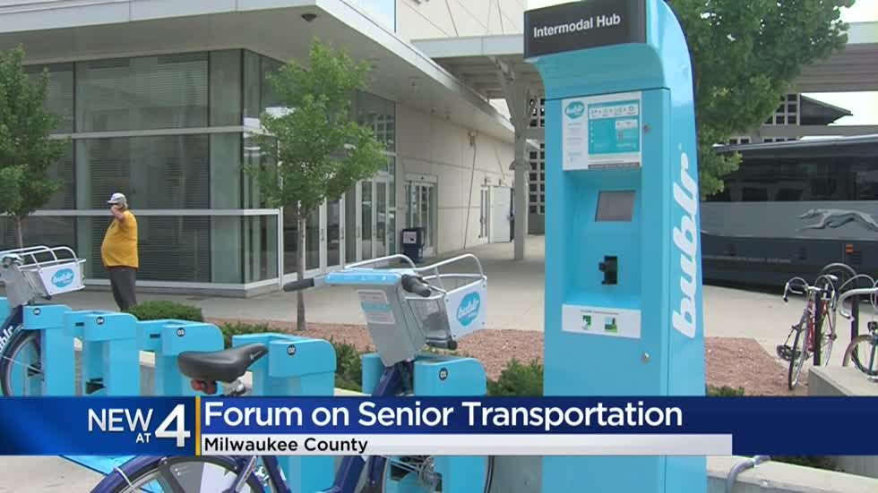 AARP of Wisconsin holds senior transportation forum with MCTS, Bublr Bikes