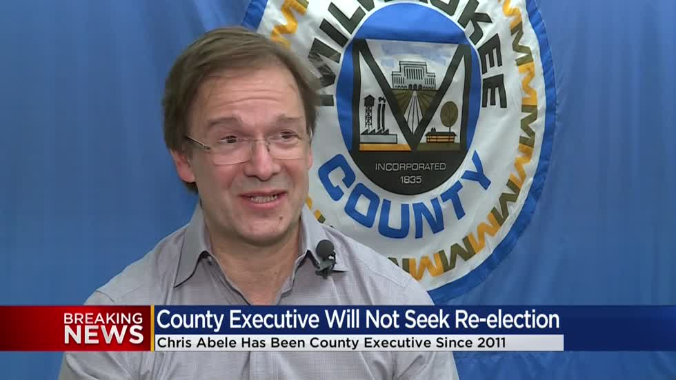 Milwaukee County Executive Chris Abele not seeking re-election