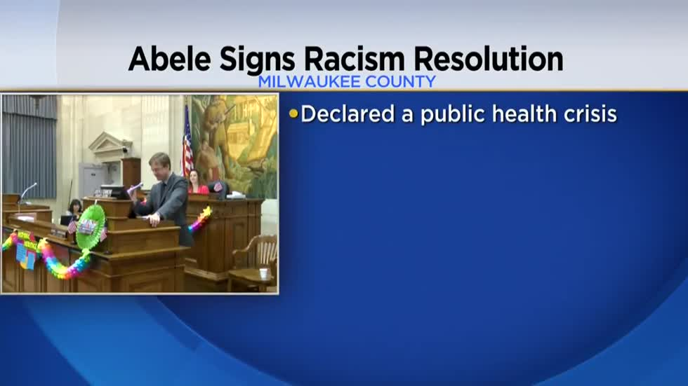 Chris Abele signs resolution declaring racism a public health crisis