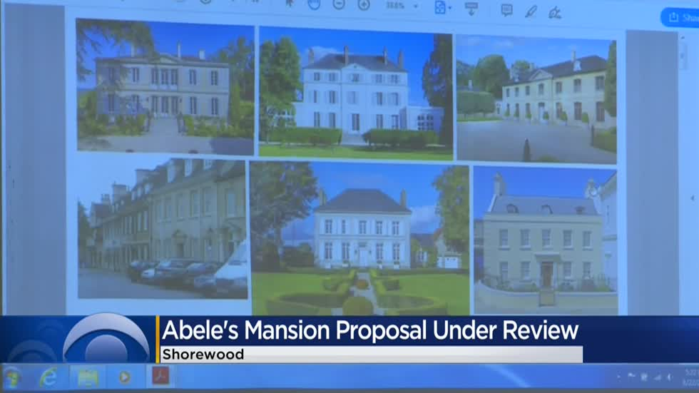 Abele's lakefront mansion proposal under review