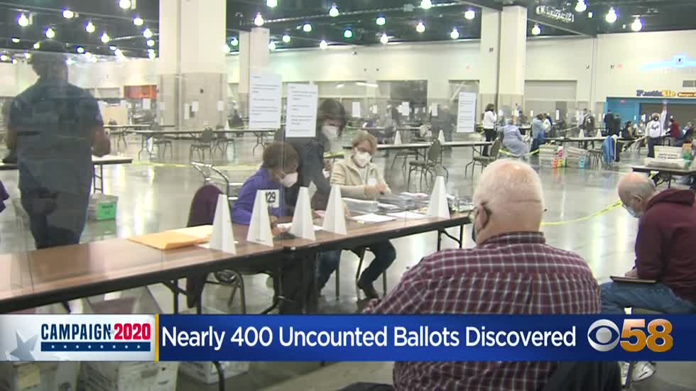 Nearly 400 unprocessed ballots found during day 5 of Milwaukee...