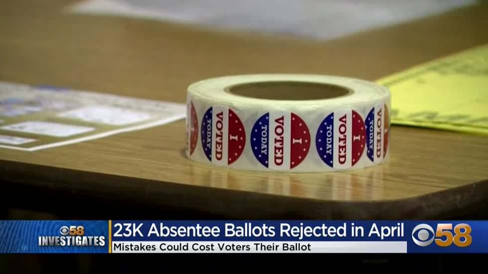 CBS 58 Investigates: Voters not guaranteed opportunity to fix absentee ballot mistakes