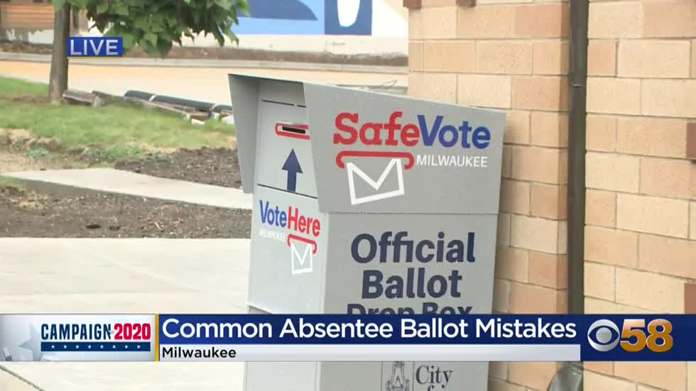 Wisconsin Elections Commission: Most common mistakes people make...