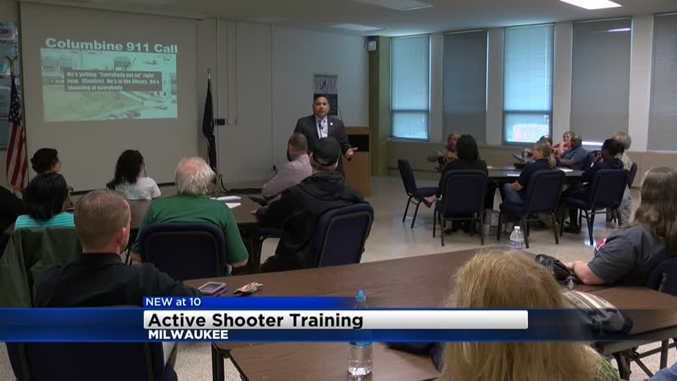 Milwaukee Police Department hosts active shooter presentation