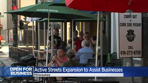 Milwaukee restaurants and bars can apply to expand outdoor seating during COVID-19 -- here's how