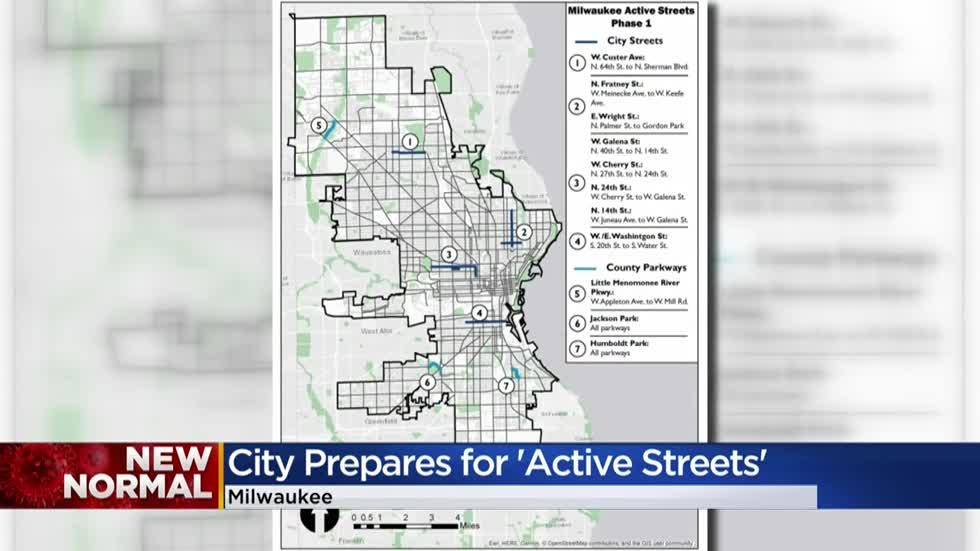 Milwaukee launches 'Active Streets' program, street closures