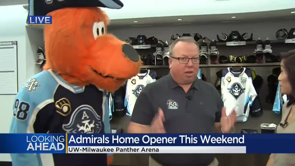 Plenty of family fun expected at Milwaukee Admirals Hockey Home opener Saturday