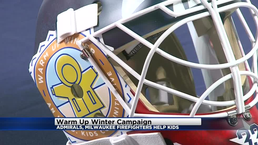 Admirals announce new partnership to provide winter coats for Milwaukee children