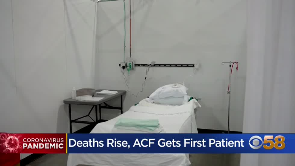 State Fair Park COVID-19 facility accepts 1st patient as Wisconsin...