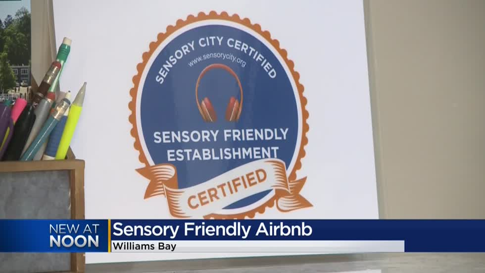 'Small but impactful changes:' Wisconsin's first 'Certified Sensory Friendly' Airbnb to open in Williams Bay