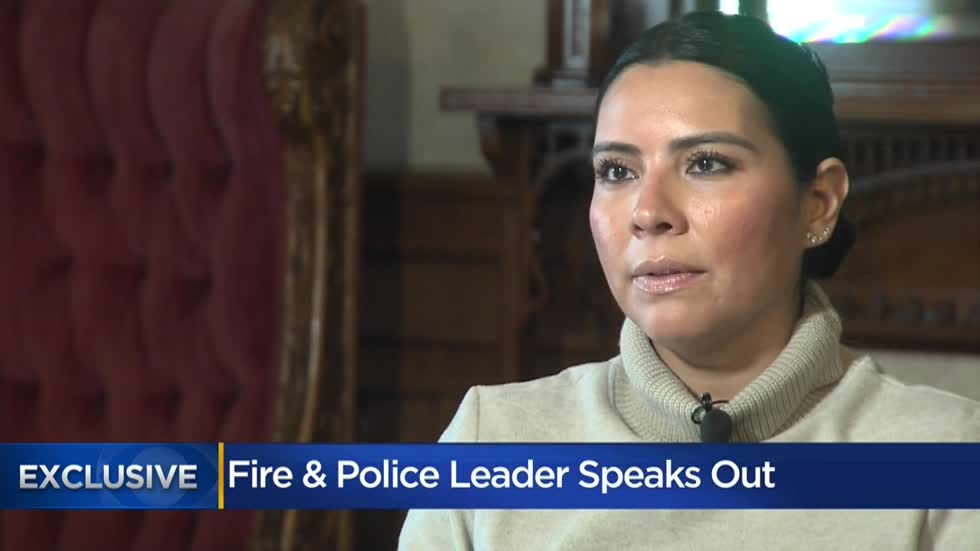 Fire and Police Commission's Executive Director says she's not backing down despite criticism