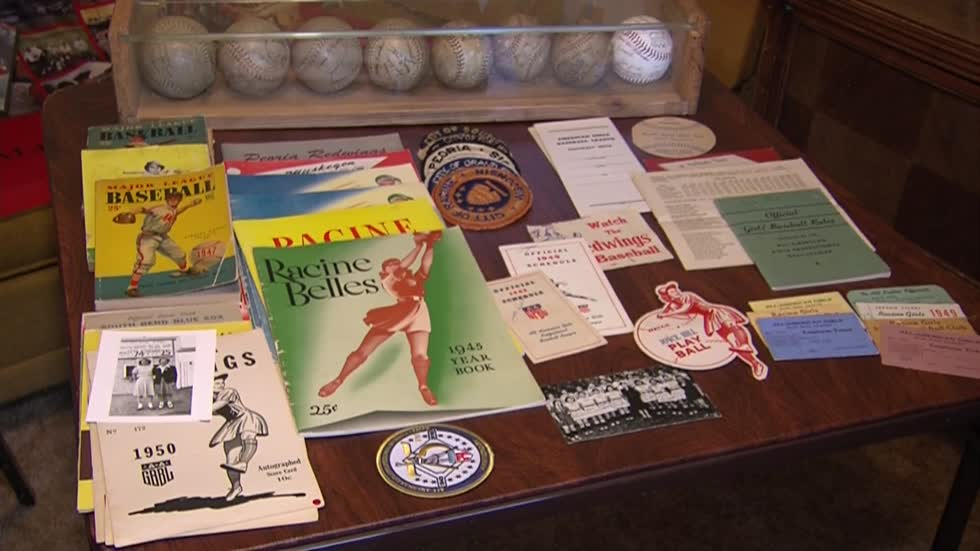Ballplayer for All-American Girls Professional Baseball League reminisces after 75 years