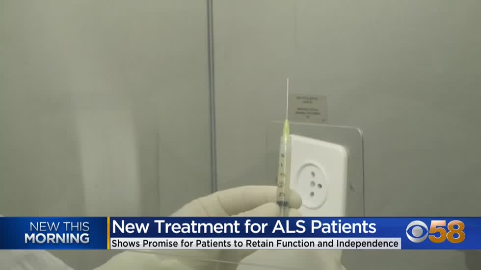 Research findings show potential promise for slowing down ALS