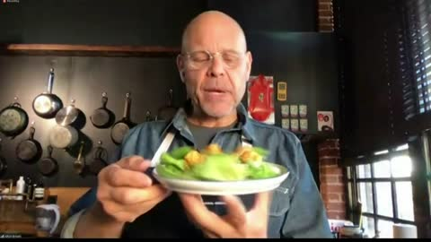 Celebrity Chef Alton Brown discusses at-home culinary series...