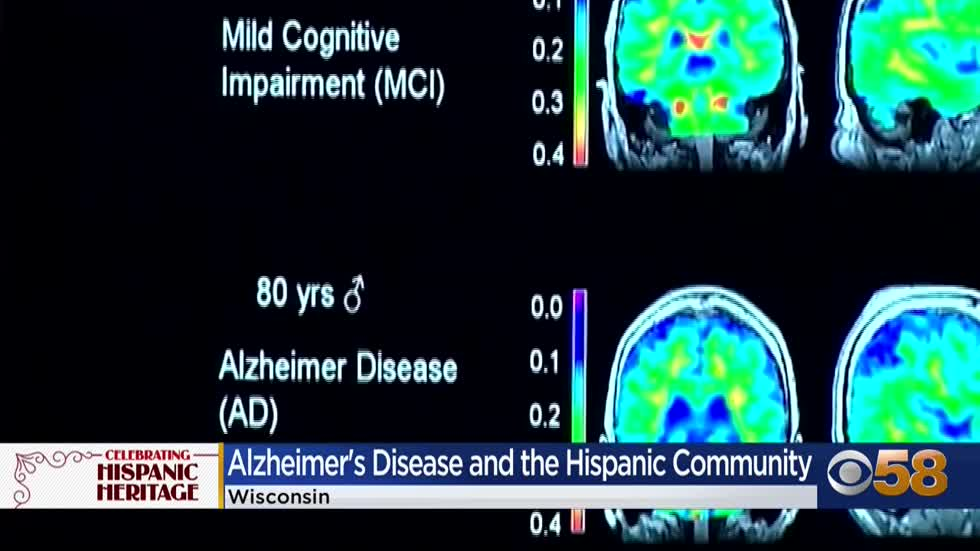 Alzheimer's Association raising awareness during Hispanic Heritage...