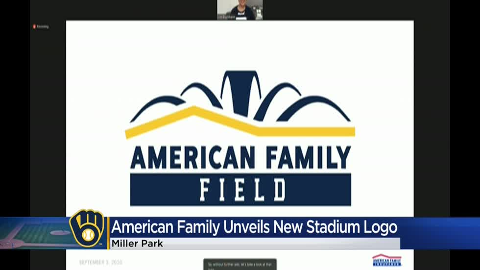 Brewers reveal logo for American Family Field, the new name for Miller Park ⚾