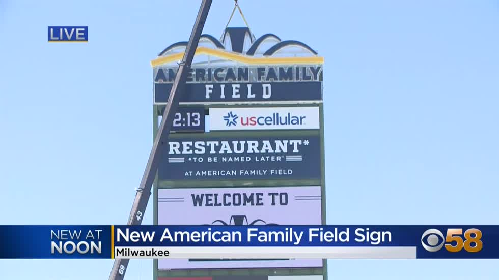 Miller Park becomes American Family Field