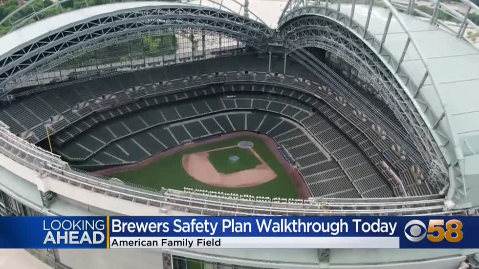 Milwaukee health officials to walkthrough American Family Field,...
