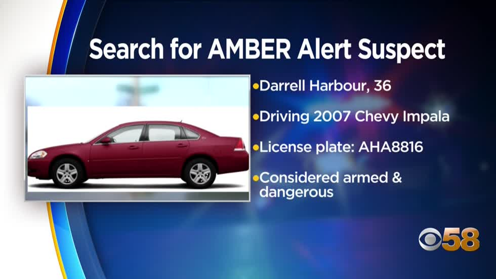 UPDATE: AMBER Alert canceled, children found, suspect still at large