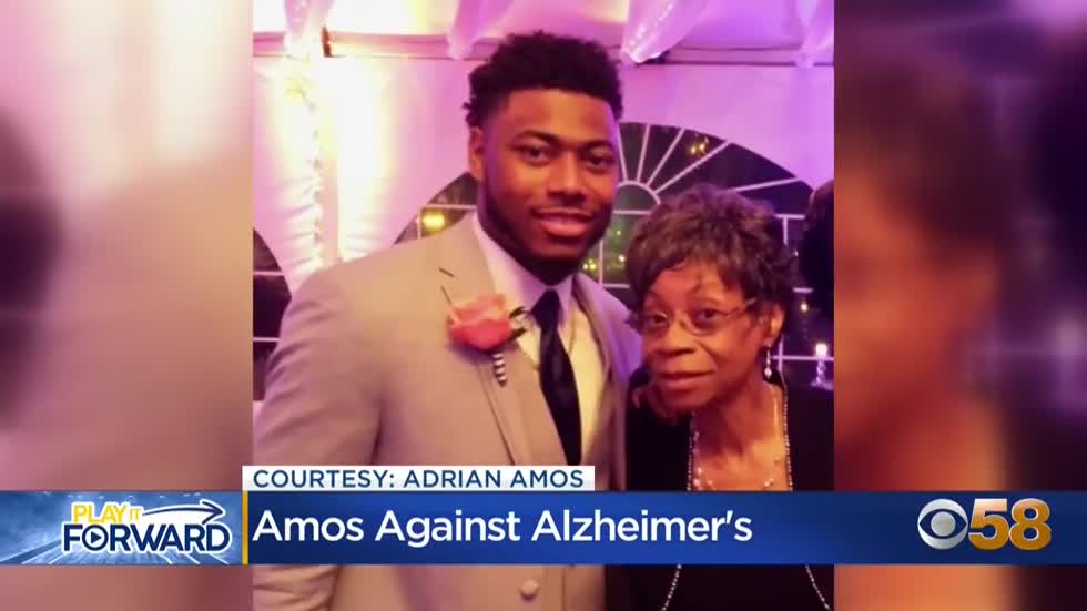 Amos honors grandmother with $83,000 donation to Alzheimer's Association