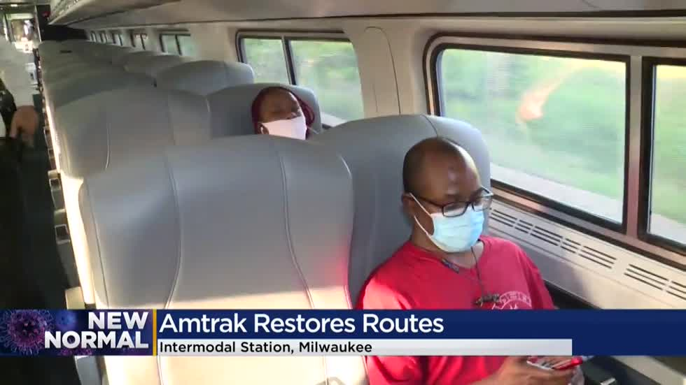 Amtrak restores more services for Milwaukee, Chicago round trips