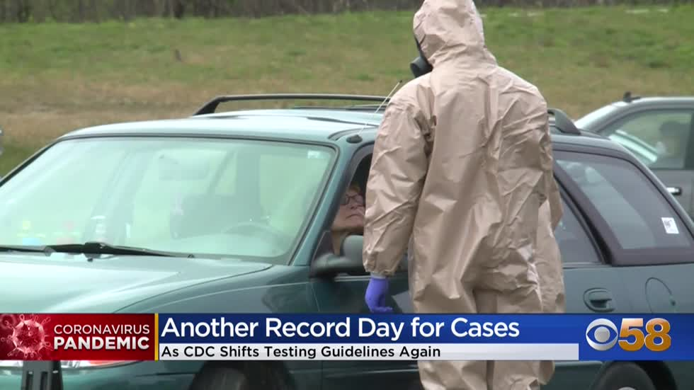 Wisconsin sets new COVID-19 record with 2,533 more cases in 1 day amid CDC changing testing guidelines