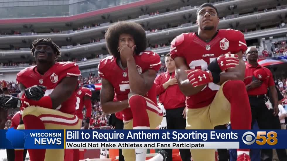 Some Democrats question motive behind national anthem bill