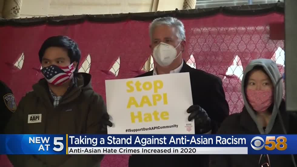 'I feel really scared now': Local organizations taking a stand against Anti-Asian Hate Crimes