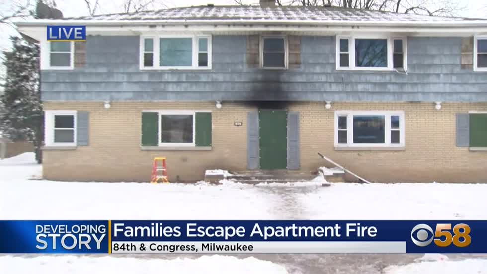MPD: 61-year-old man in critical condition following apartment fire near 84th and Congress