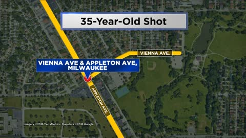 Man hurt after being shot near Appleton and Vienna