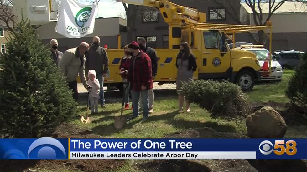 Milwaukee holds 55th Arbor Day tree planting ceremony in Riverwest