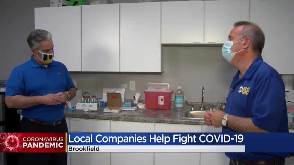 Two local companies battling COVID together with testing & treatment