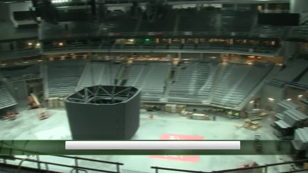 Bucks arena construction in final stages