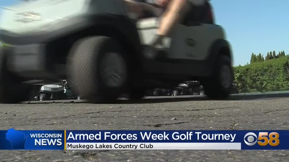 Golf tournament in Muskego raises money to support Armed Forces...