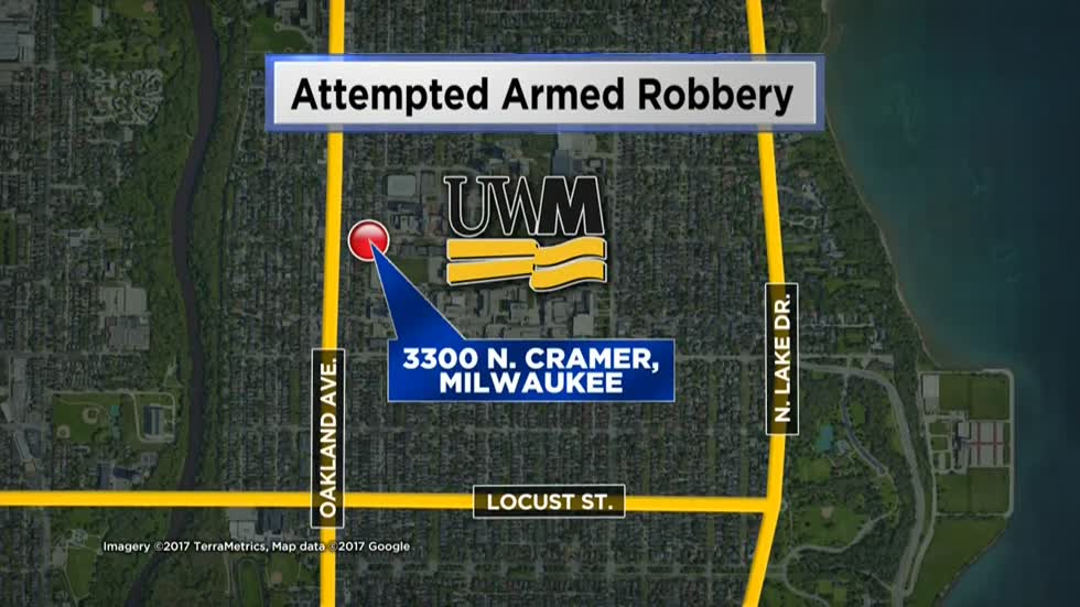 UW-Milwaukee students warned to be alert after boy attempts armed robbery