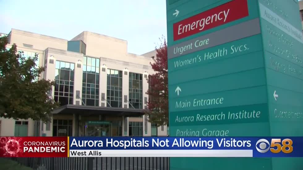 Visitor restrictions implemented at Advocate Aurora as COVID-19 cases surge