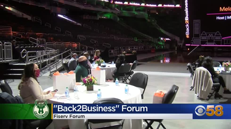 Bucks host 'Back 2 Business' forum, giving $10K grants to minority-owned small businesses